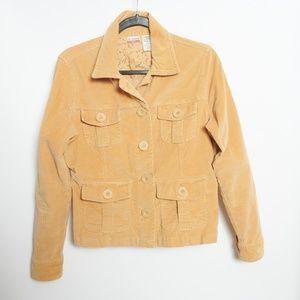 No Boundaries Stretch Corduroy Beige Jacket